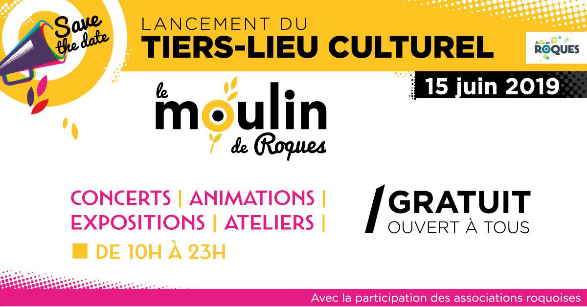 Lancement du Moulin, Tiers-Lieu culturel