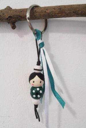 Porte-clés en perles
