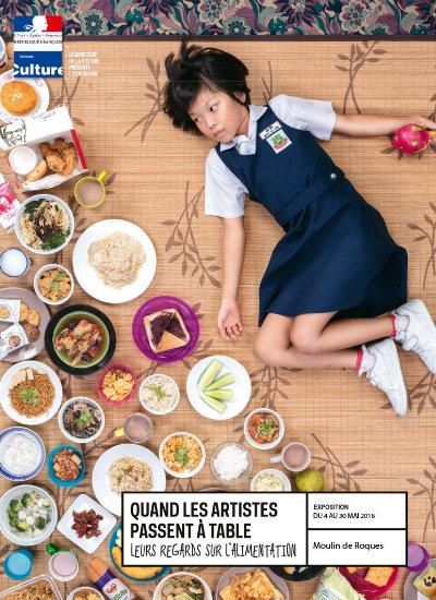 Quand les artistes passent à table, leurs regards sur l'alimentation