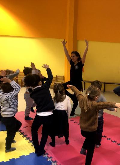 Atelier découverte : Yoga parents/enfants